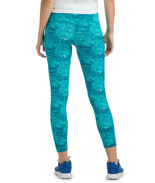 Water Color Compression Leggings