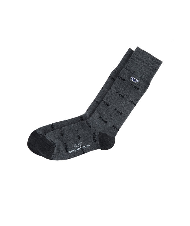 Tossed Bonefish Socks