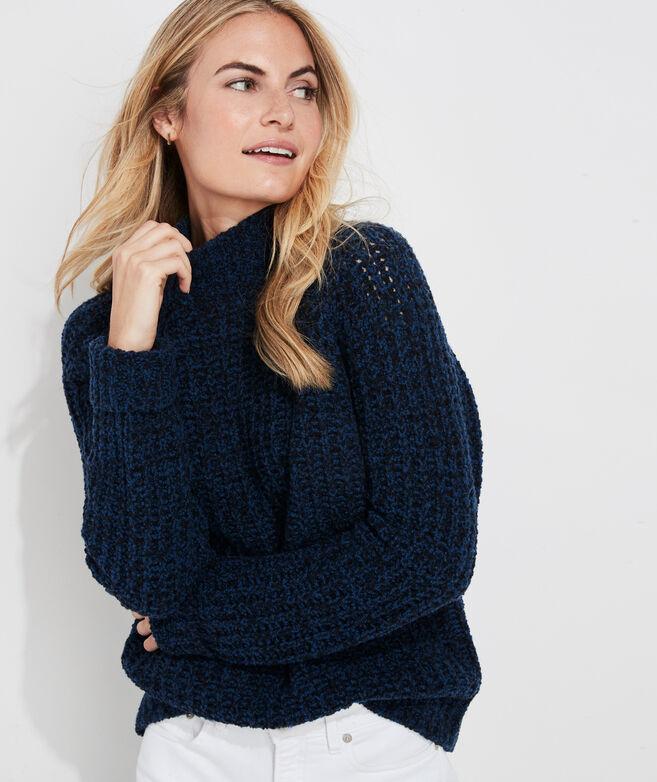 Cozy Marled Turtleneck Sweater