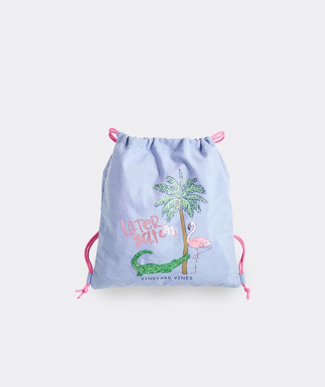 Girls' Later Gator Drawstring Bag