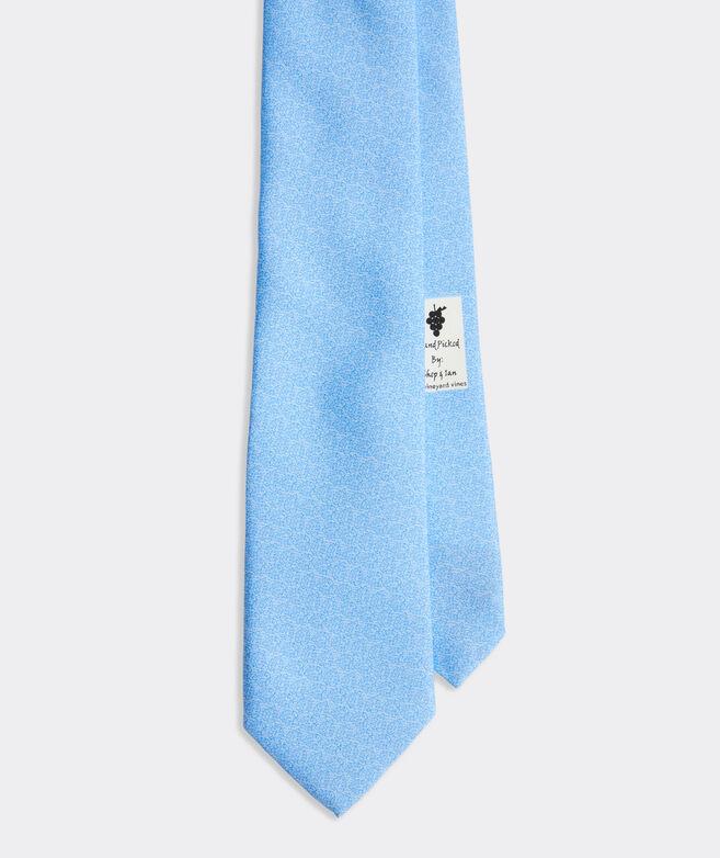 Tonal Monsteras Printed Tie