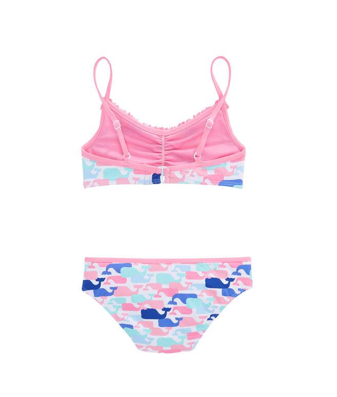 Girls Multi Whale Bikini