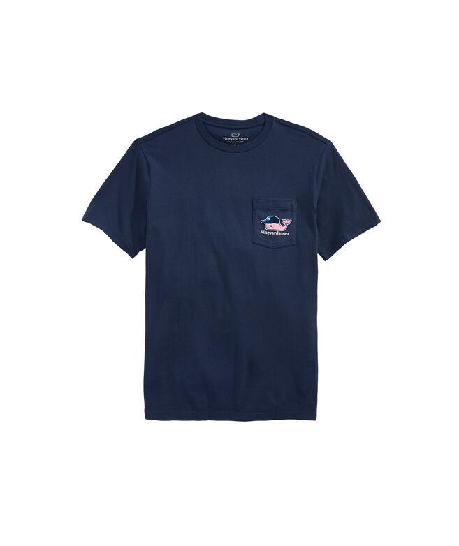 New York Yankees Baseball Cap Pocket T-Shirt