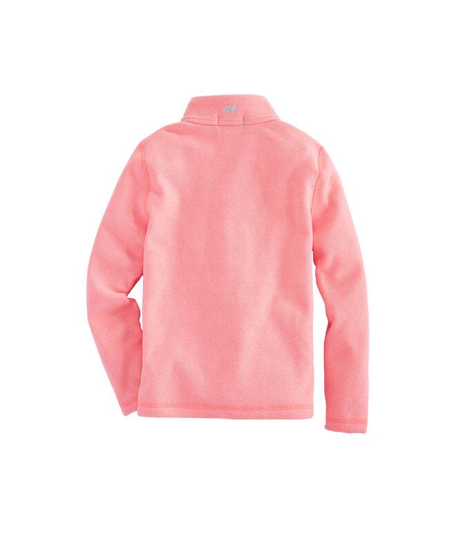 8f2025904 Shop Girls Sweater Fleece Full Zip at vineyard vines