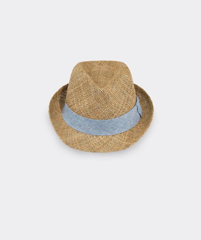 Linen Band Straw Safari Hat
