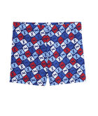 Girls Puzzle Whale Tumble Shorts