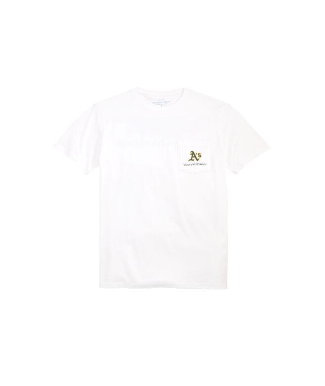 Oakland Athletics Bar Flag T-Shirt