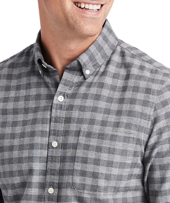 Slim Fit Gray Oxford Murray Shirt