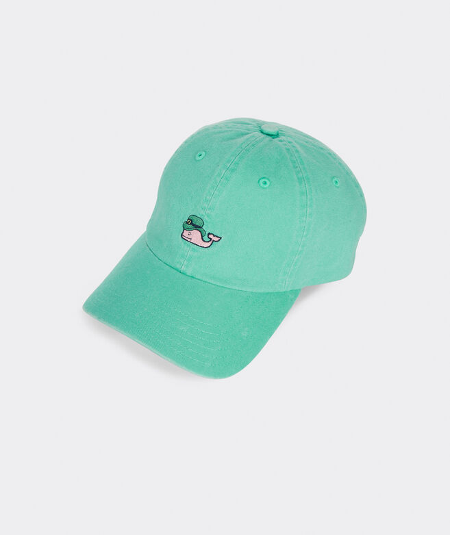 Leprechaun Whale Baseball Hat