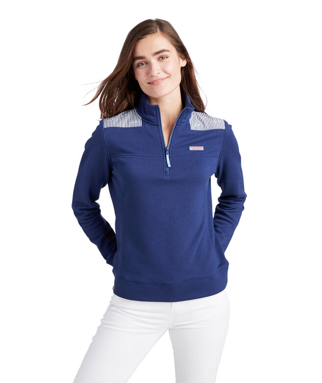 Classic Whale Embroidered Shep Shirt