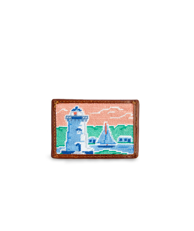 vineyard vines x Smathers & Branson Lighthouse Card Case