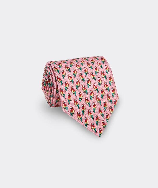 Parrots Printed Tie