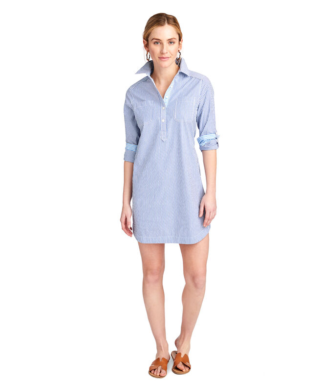 OUTLET Women's Striped Margo Shirt Dress