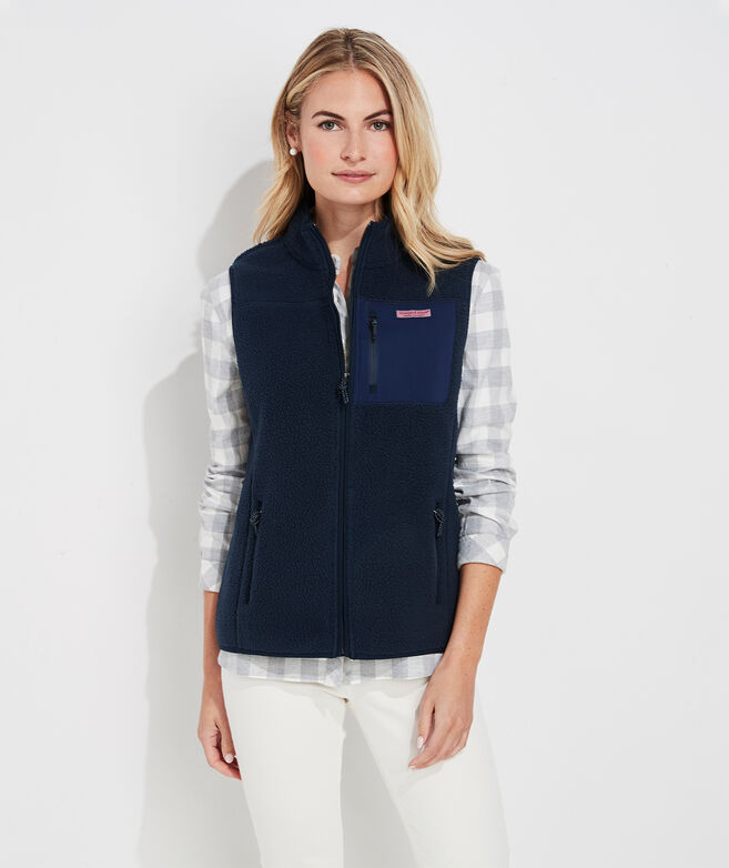 Sherpa Patch Pocket Vest