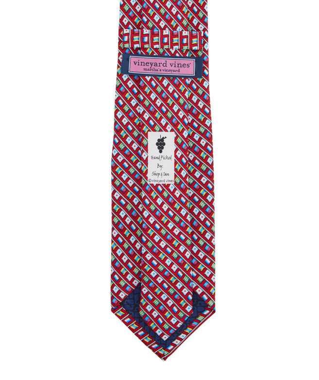 EDSFTG Flags Printed Tie