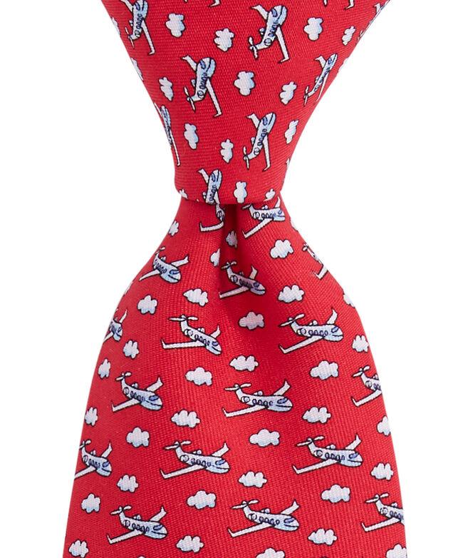 Boys Airplane Tie