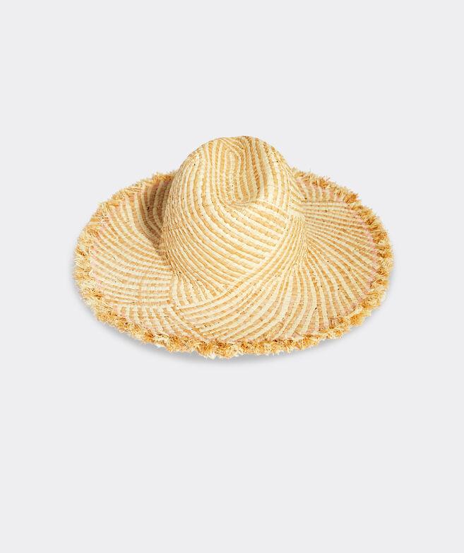 Woven Straw Fedora