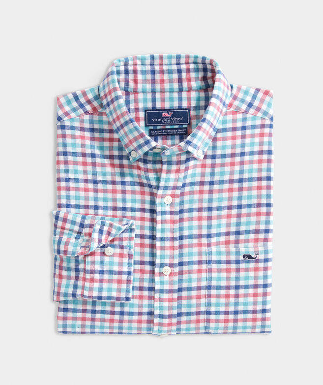Classic Fit Robbins Tucker Button-Down Shirt