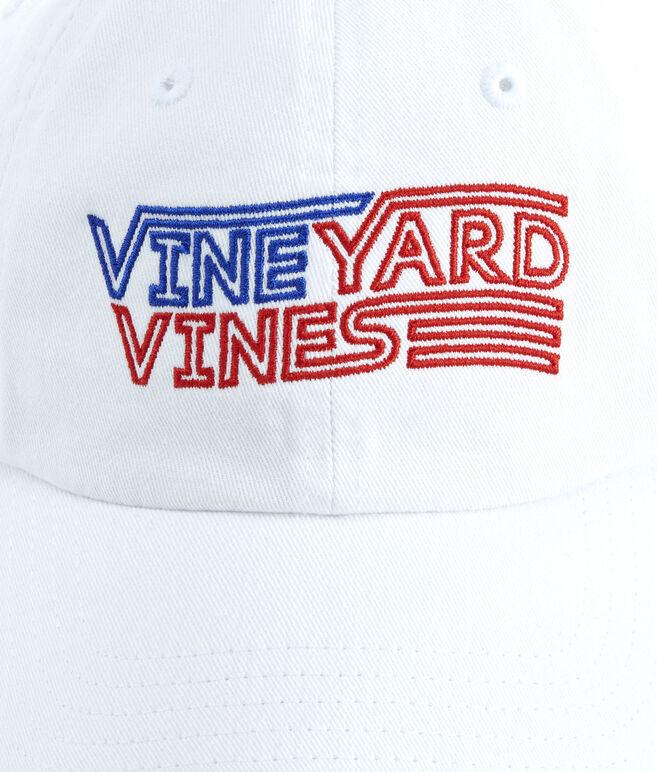 vineyard vines Flag Embroidered Baseball Hat