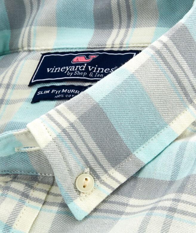 Slim Fit Tamarind Longshore Button-Down Shirt