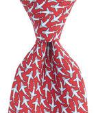 Shark Frenzy Tie
