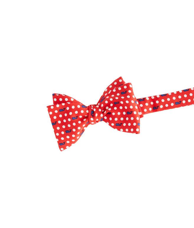 Polka Dot Whale Bow Tie