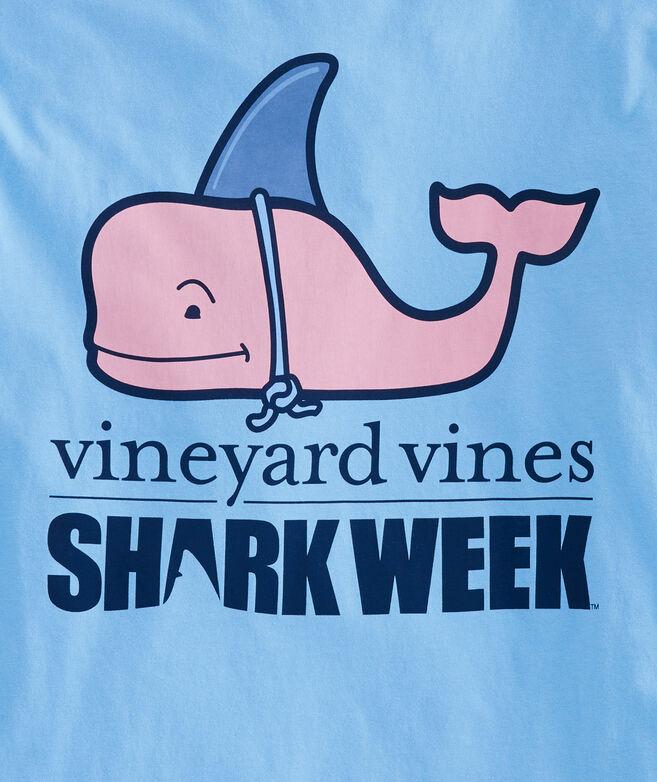 Long-Sleeve Shark Week Hammerhead Decoy Pocket T-Shirt