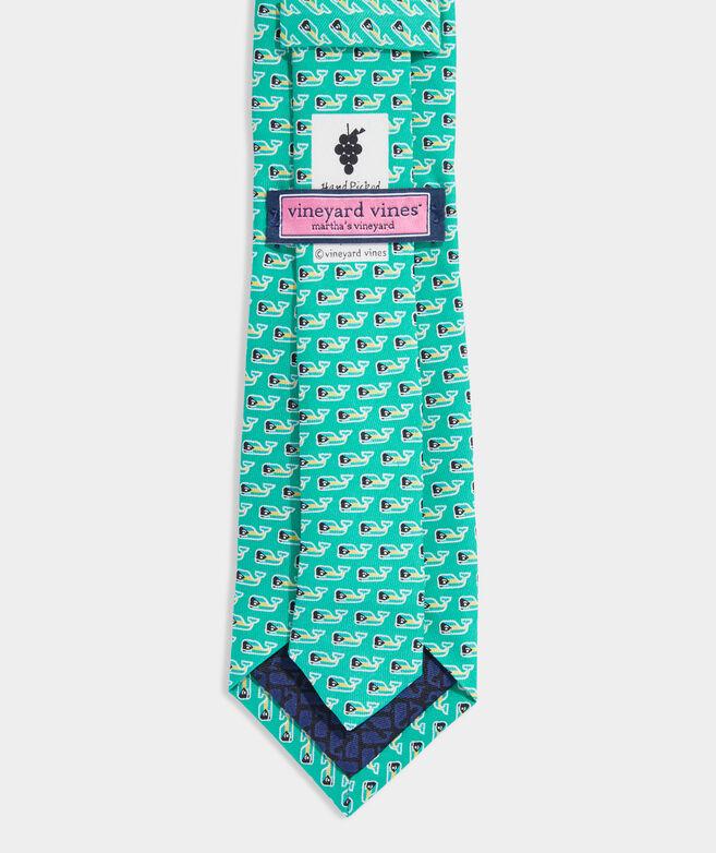 Boys' Bahamas Flag Whale Printed Tie