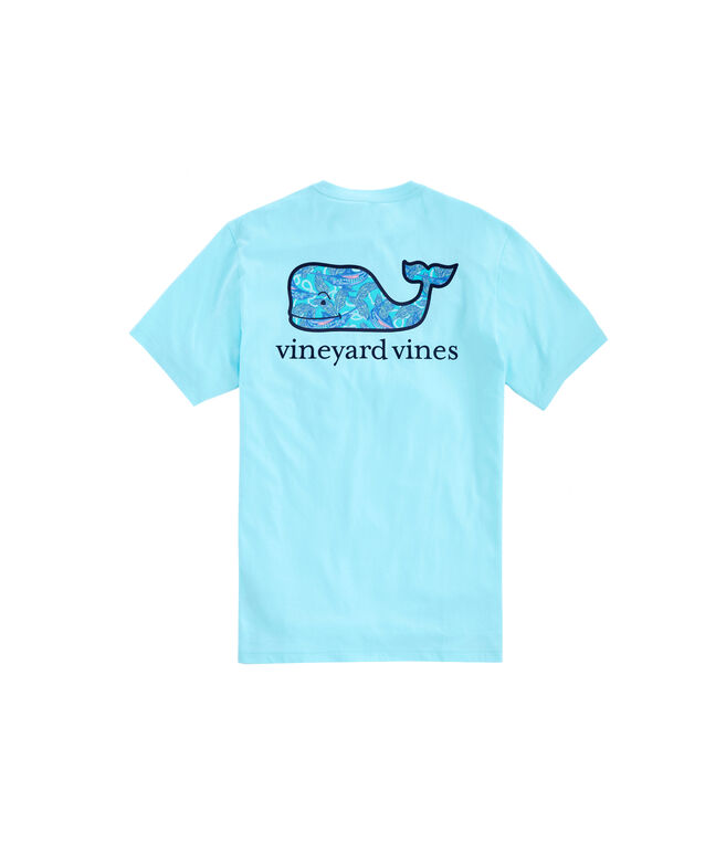 Marlin & Ropes Whale Fill Short-Sleeve Pocket T-Shirt