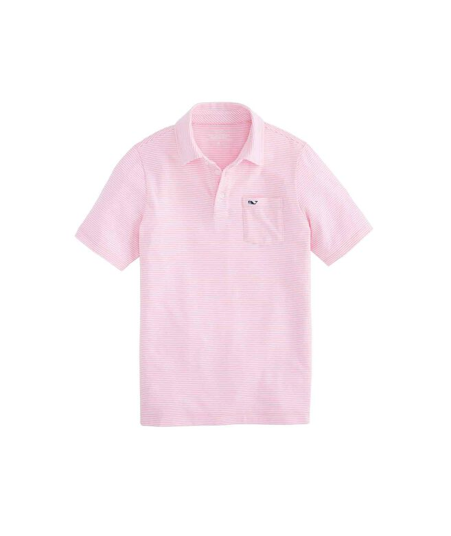 Boys Feeder Stripe Edgartown Polo