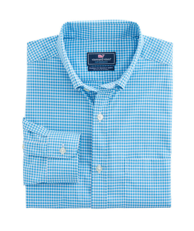 Watch House Check Performance Classic Murray Shirt