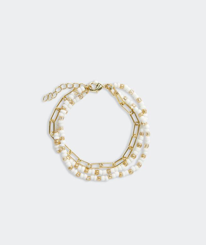 Beaded Stacked Bracelet