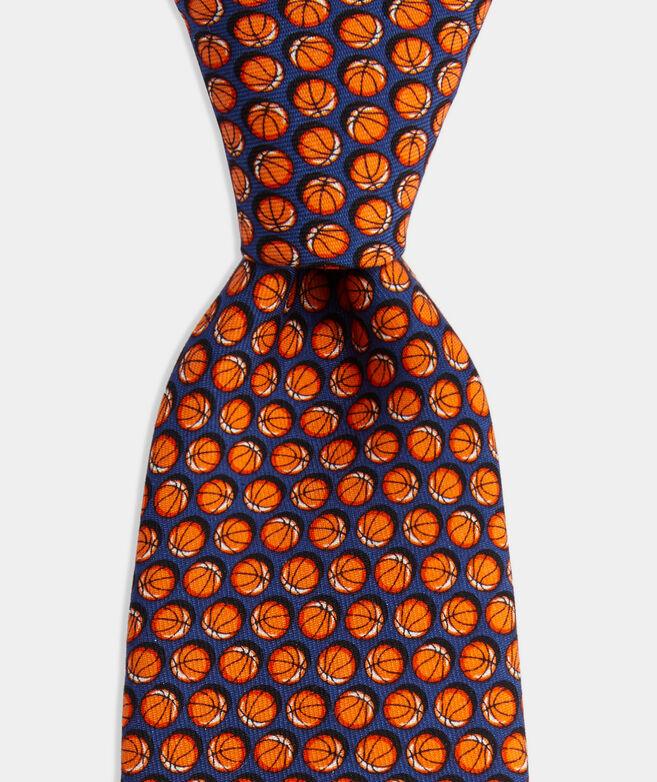 Boys' March Basketball Printed Tie