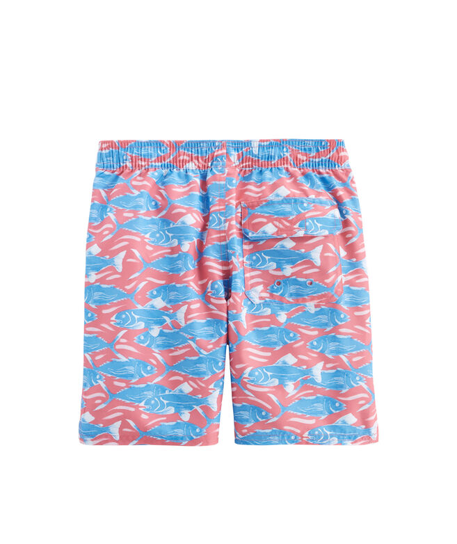b2faffb17d95a Shop Boys Swimming With Fish Chappy Trunks at vineyard vines