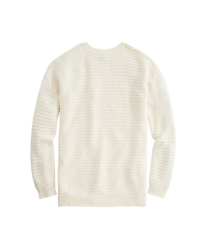 OUTLET Women's Links Stripe Relaxed Sweater