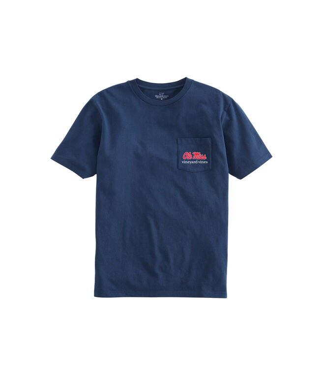 Ole Miss Whale Helmet T-Shirt