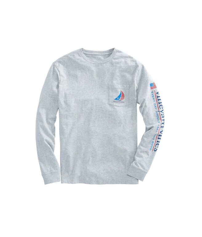 Long-Sleeve Sail Pocket T-Shirt