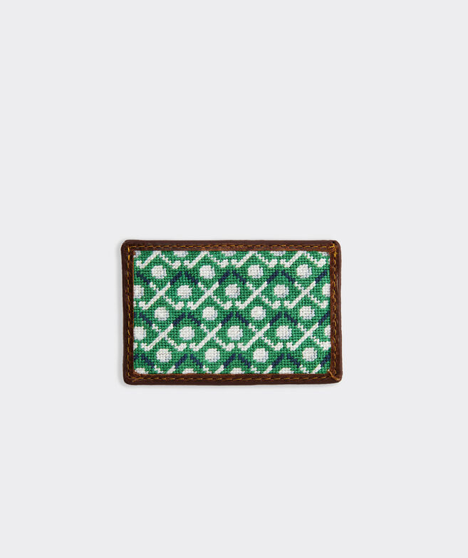 vineyard vines x Smathers & Branson Golf Greens Card Case