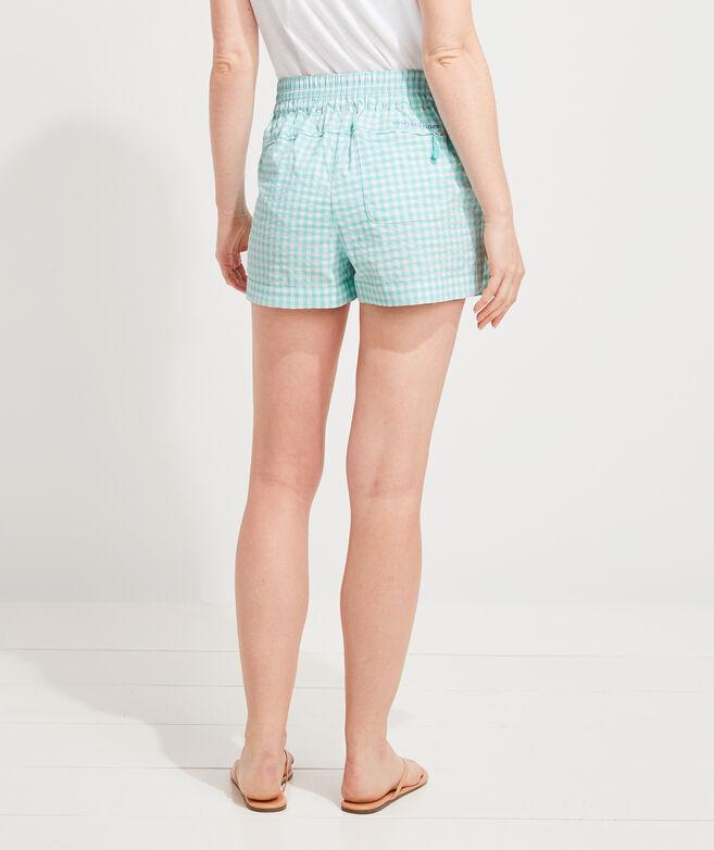 Gingham Harbor Shorts