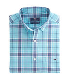 Freshwater Pond Plaid Classic Tucker Shirt