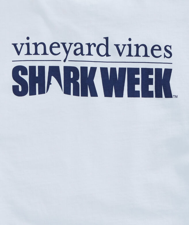 f4d9c554 Shop Mens Shark Week Logo T-Shirt at vineyard vines