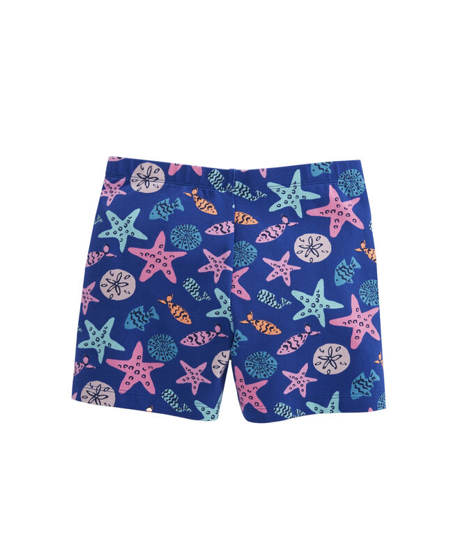 Girls Sea Critter Tumble Shorts