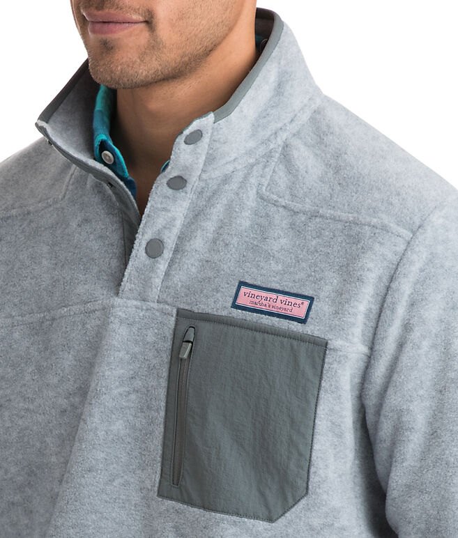 Snap Placket Fleece