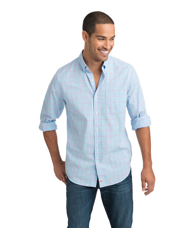 Inlet Check Slim Murray Shirt