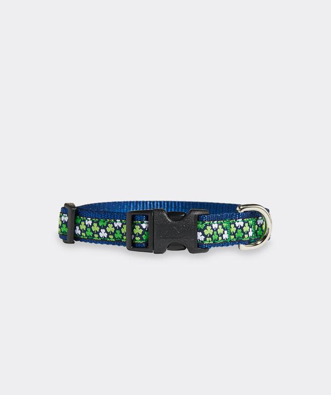 Clover Print Dog Collar