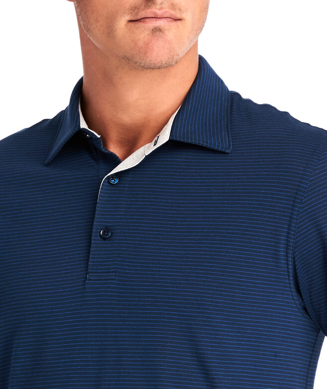Carmel Wide Stripe Polo