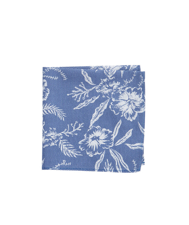 Aquatic Hibiscus Pocket Square