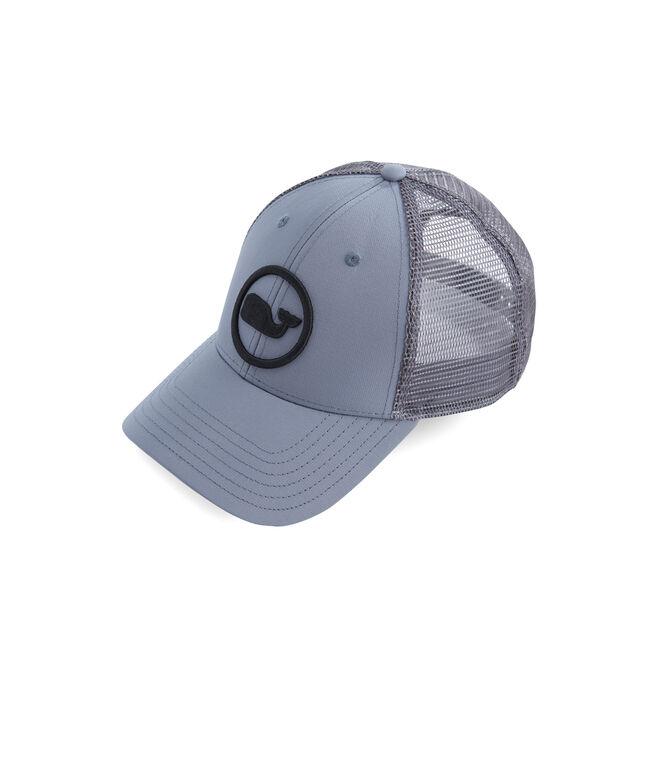 Big & Tall Whale Dot Trucker Hat