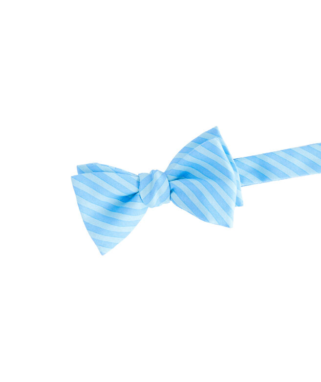 2 Color Stripe Bow Tie