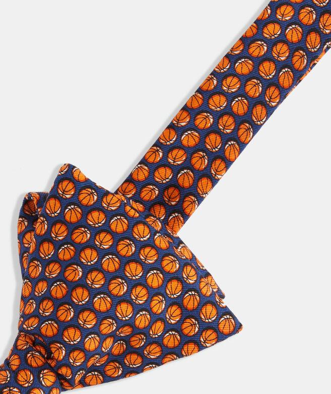 Basketball Printed Bow Tie